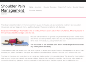 shoulder-pain-management.com