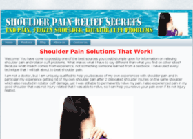 shoulderpainsecret.com