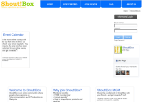 shoutbox.com.my