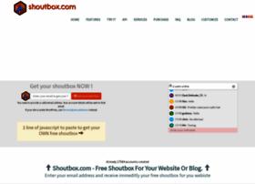 shoutbox.com