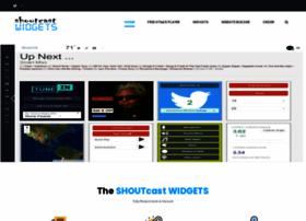 shoutcastwidgets.com