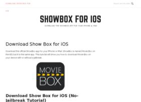 showboxios.com