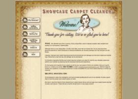 showcasecarpetcleaners.com