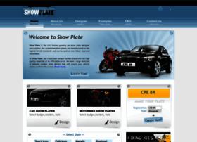 showplate.co.uk