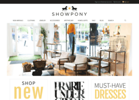 showponyboutique.com