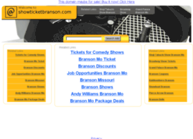 showticketbranson.com