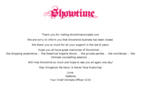 showtimeconcepts.com
