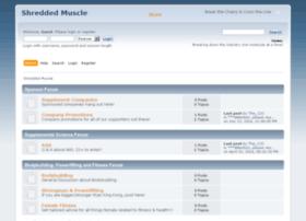 shreddedmuscle.net