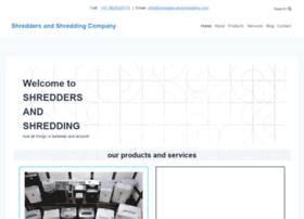 shreddersandshredding.com