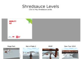 shredsaucelevels.com