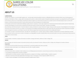 shreejeecolorsolutions.com