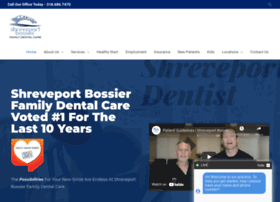 shreveportbossierdental.com