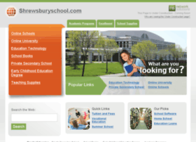 shrewsburyschool.com