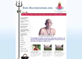 shriaghoreshwar.org