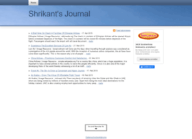 shrikantsjournal.beepworld.de
