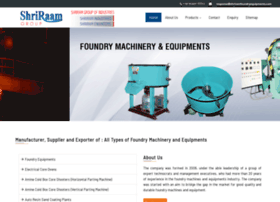 shriramfoundryequipments.com