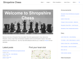shropshirechess.org