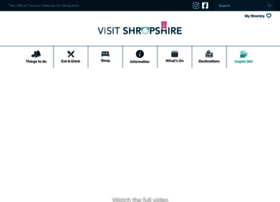 shropshiretourism.co.uk