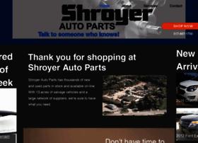 shroyerautoparts.com