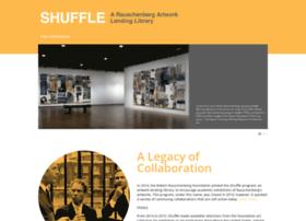 shuffle.rauschenbergfoundation.org