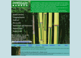 shweeashbamboo.com