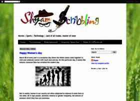 shyamscribbling.blogspot.com