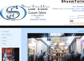shyamtailors.com