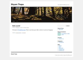 shyamthapa.wordpress.com