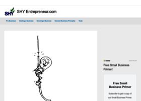 shyentrepreneur.com