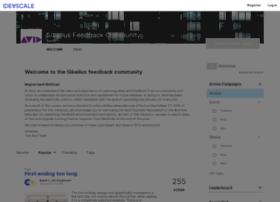 sibelius.ideascale.com