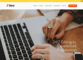 sibiaproofreading.com