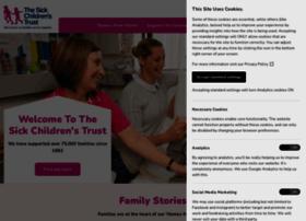 sickchildrenstrust.org