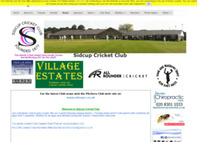 sidcup.play-cricket.com