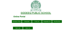 siddeeqeen.edu.pk