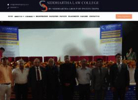 siddharthalawcollege.com