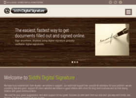 siddhidigitalsignature.com
