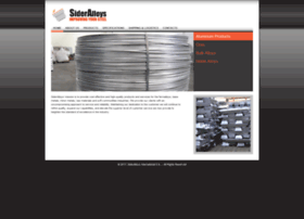 sideralloys.com