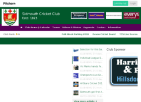 sidmouthcricketclub.co.uk