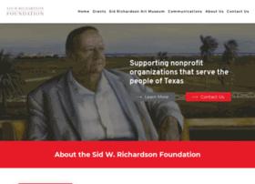 sidrichardson.org