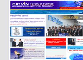 sidvin.ac.in