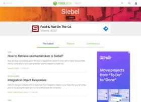 siebel.ittoolbox.com