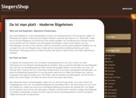 siegersshop.de