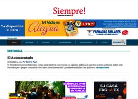 siempre.com.mx