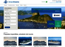 siemprecruceros.com