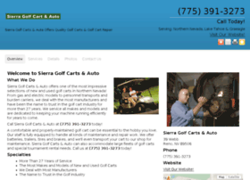 sierragolfcars.com