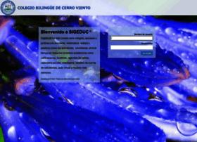 sigeduc.colegiobilinguedecerroviento.com
