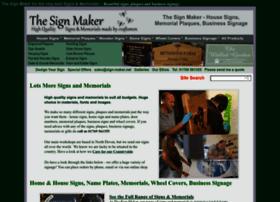 sign-maker.net