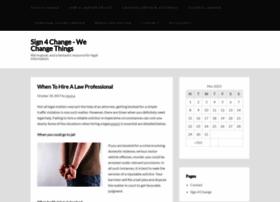 sign4change.info