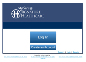 signature-healthcare.followmyhealth.com