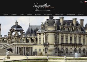 signature-immobilier.com